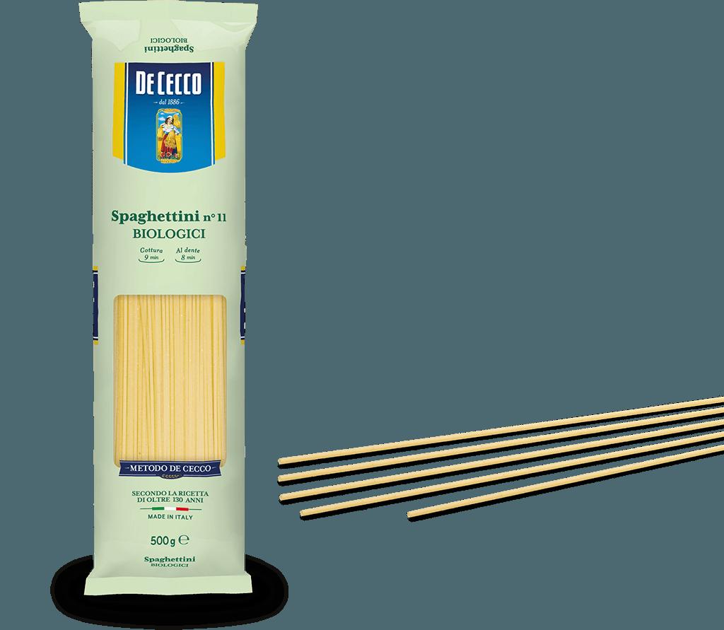 Spaghettini  n° 11 Biologici