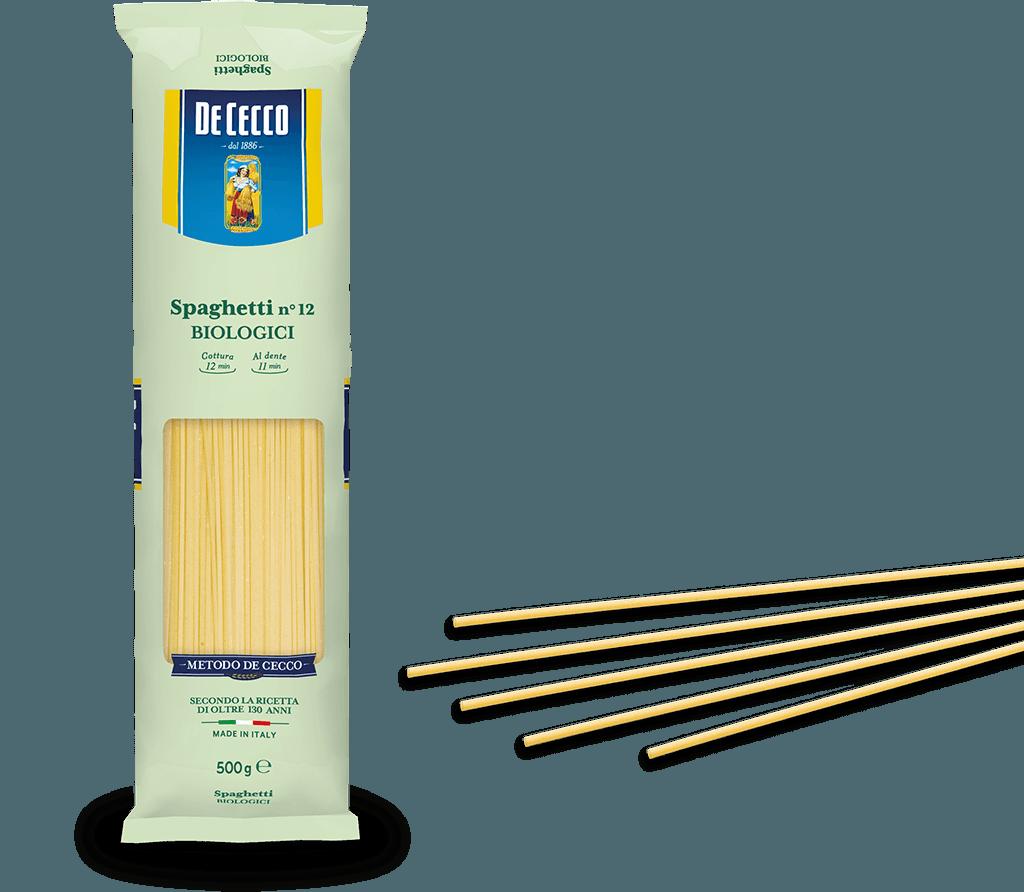 Spaghetti n° 12  Biologici