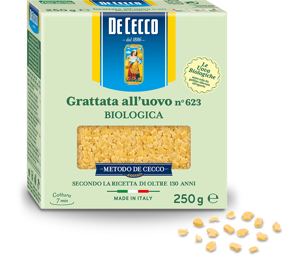 Grattata n° 623 all'uovo Biologica