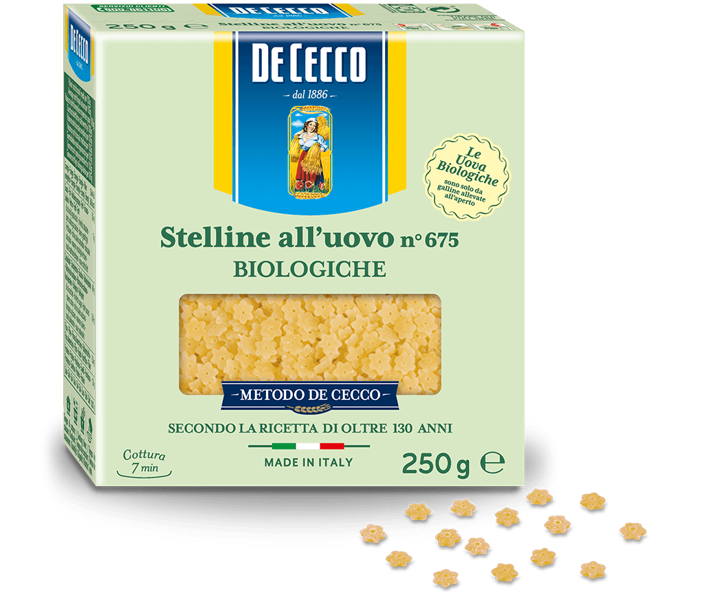 Stelline n° 675 all'uovo Biologiche