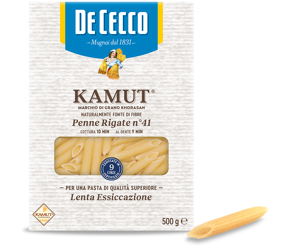 Penne Rigate n° 41 KAMUT® marchio di grano khorasan