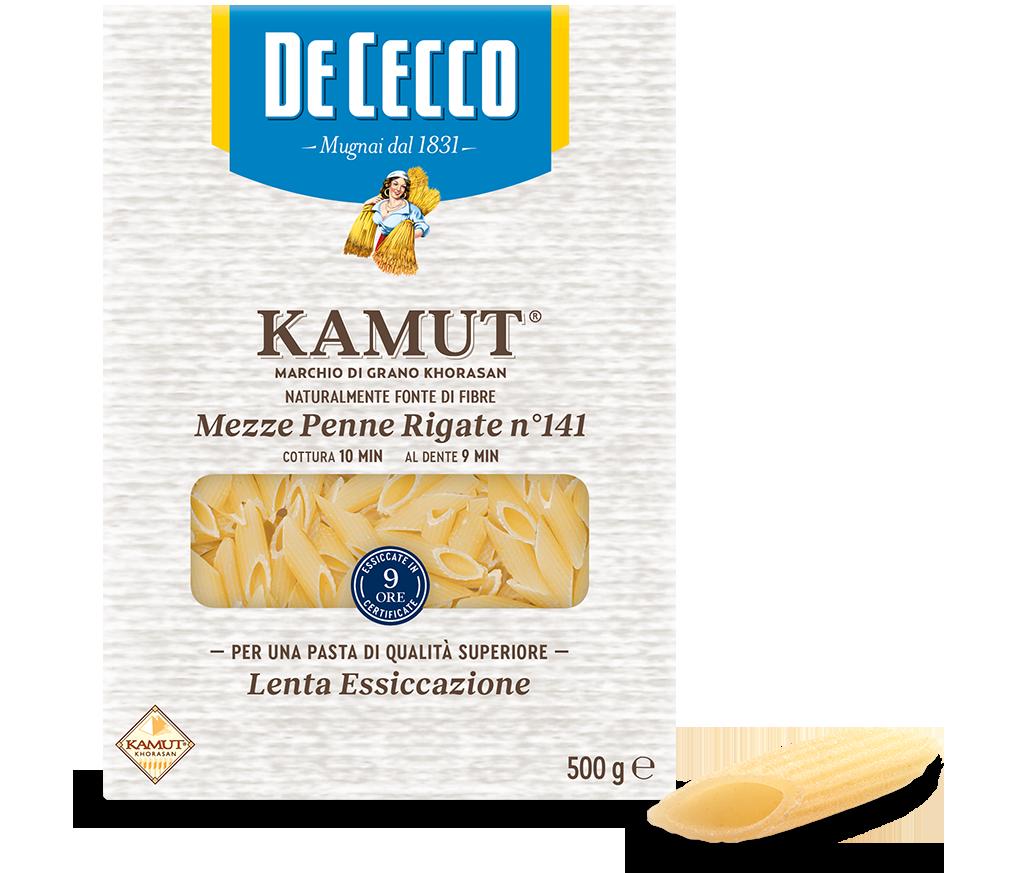 Mezze Penne Rigate n° 141 KAMUT® marchio di grano khorasan