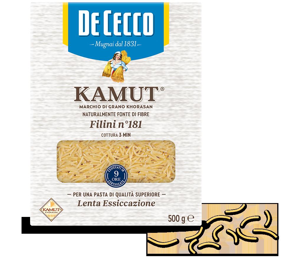 Filini n° 181 KAMUT® marchio di grano khorasan