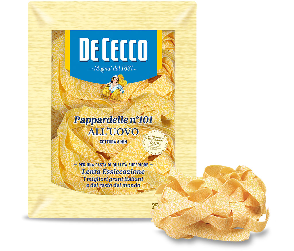 Pappardelle n° 101 all'uovo