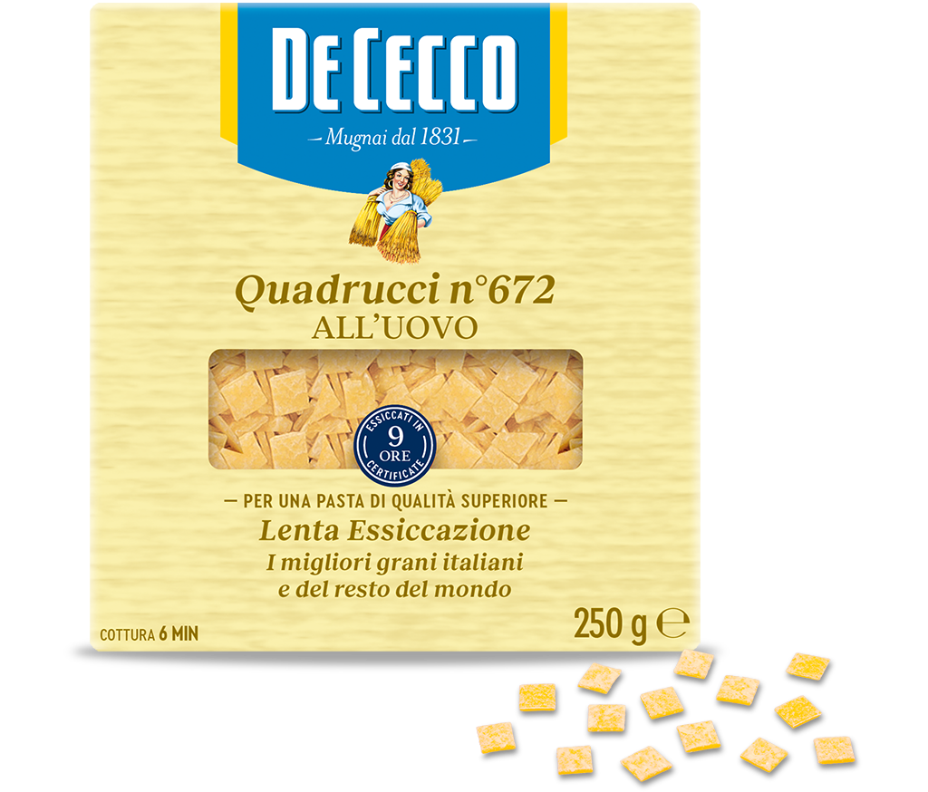 Quadrucci n° 672 all'uovo