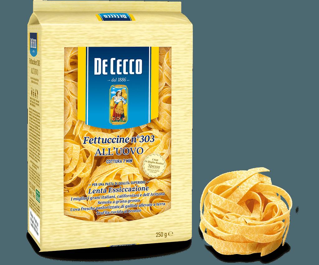 Fettuccine n° 303 all'uovo - 250g