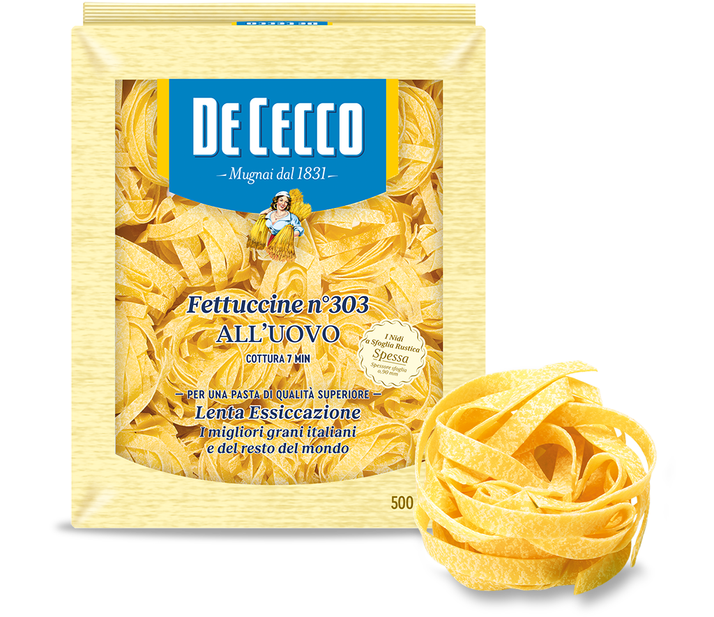 Fettuccine n° 303 all'uovo - 500g