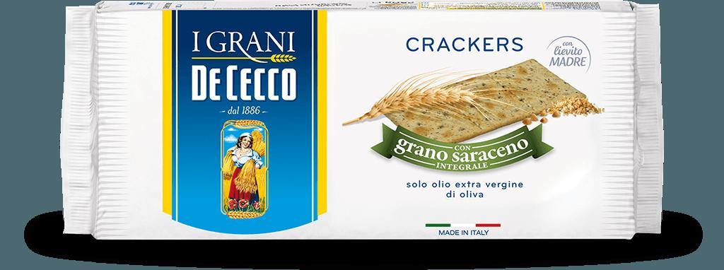 Crackers con grano saraceno