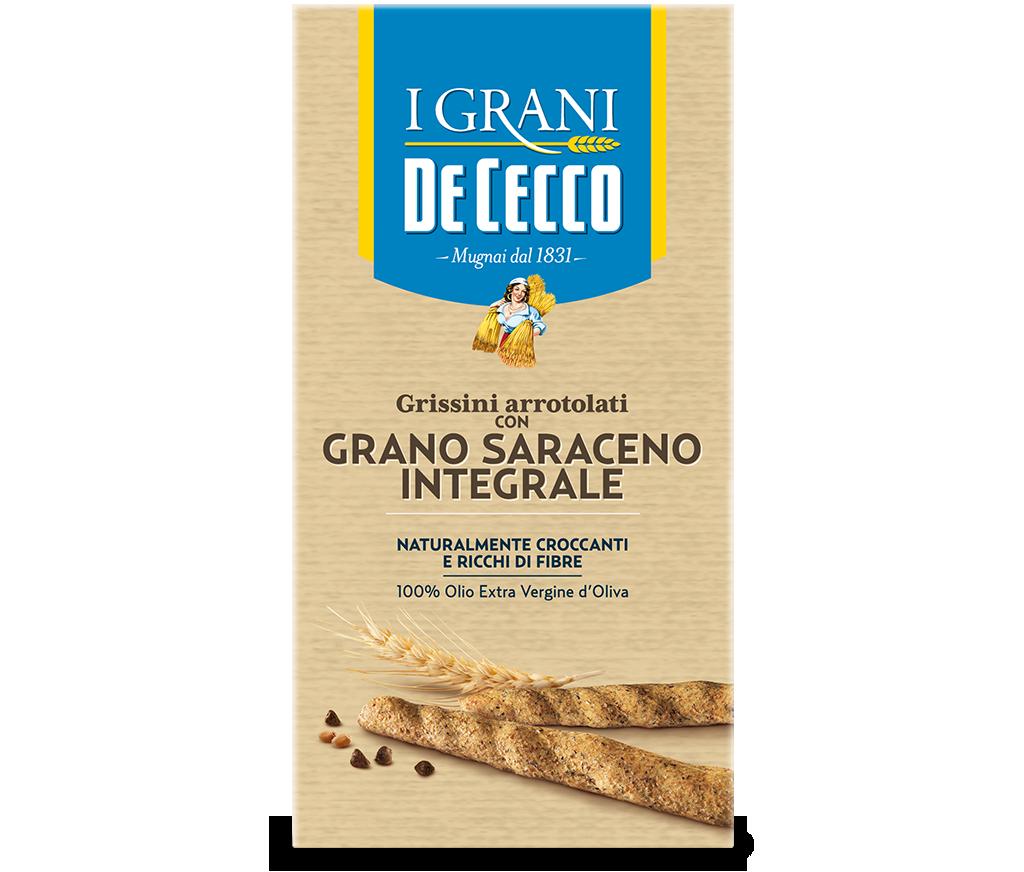 Grissini con grano saraceno