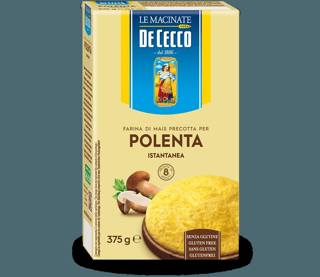 Polenta Istantanea Farina di mais precotta - gluten free