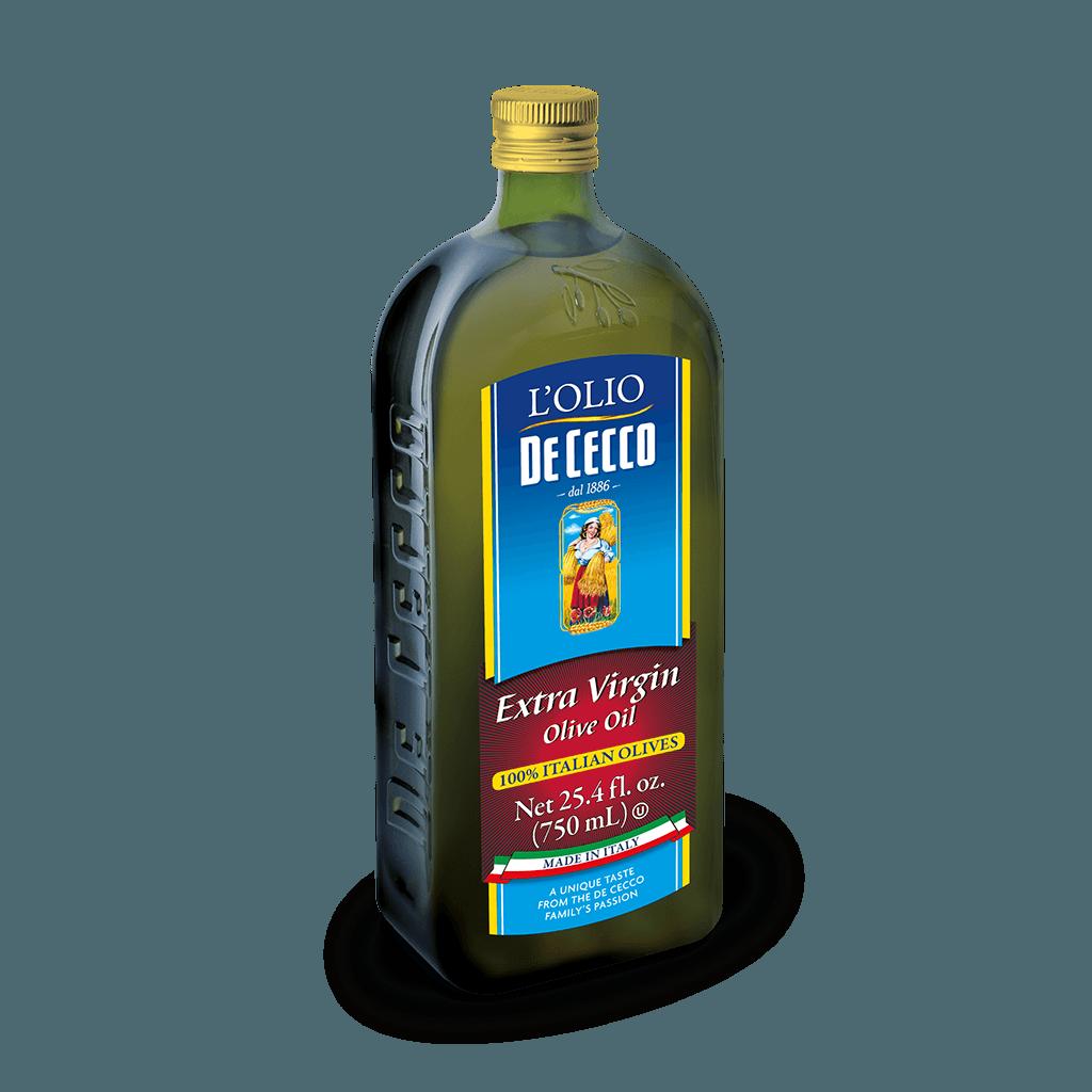 100% italian Extra Virgin Olive Oil 25 4 oz (750 ml) | Pasta De Cecco