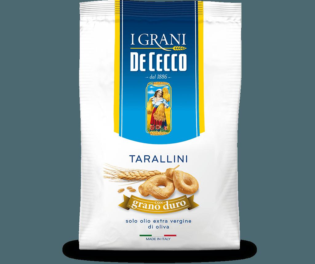 Tarallini con grano duro
