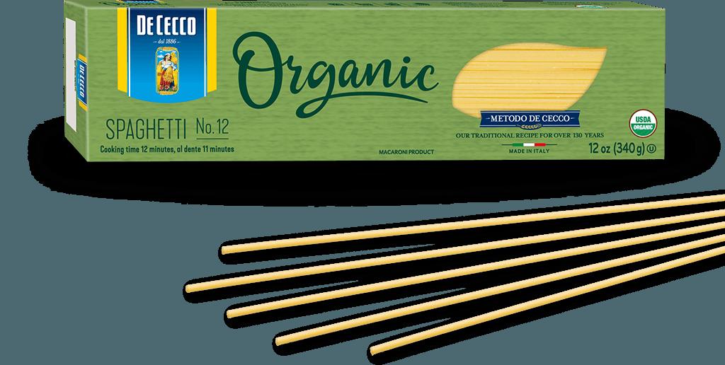 Spaghetti no. 12 100% Organic