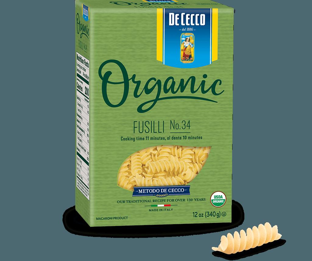 Fusilli no. 34  Organic
