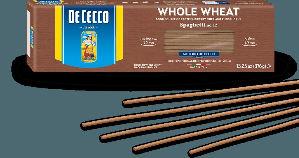 Spaghetti no.12 100% Whole Wheat