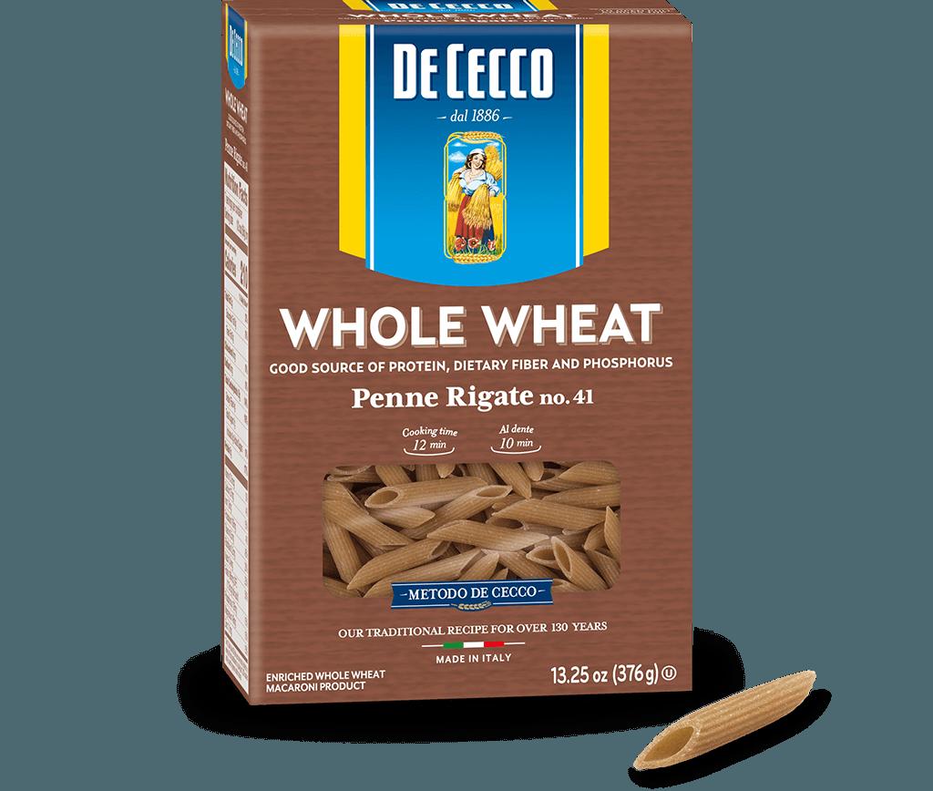 Penne Rigate no. 41 100% Whole Wheat