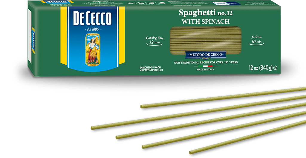 Spinach Spaghetti no. 12
