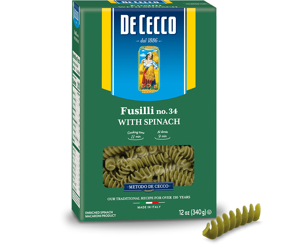 Spinach Fusilli no. 34