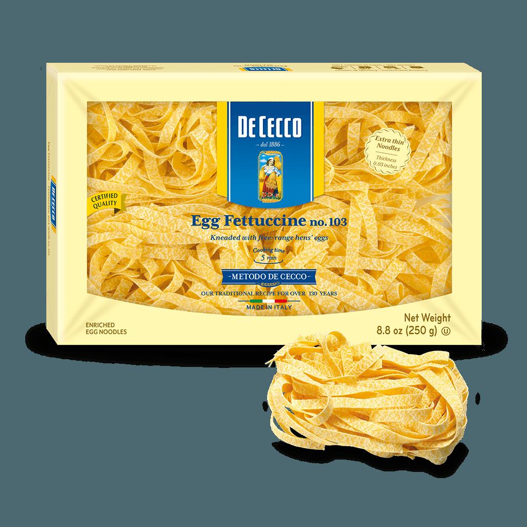 Egg Fettuccine no. 103