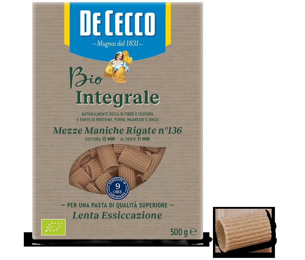Mezze Maniche Rigate n° 136 Bio Integrale
