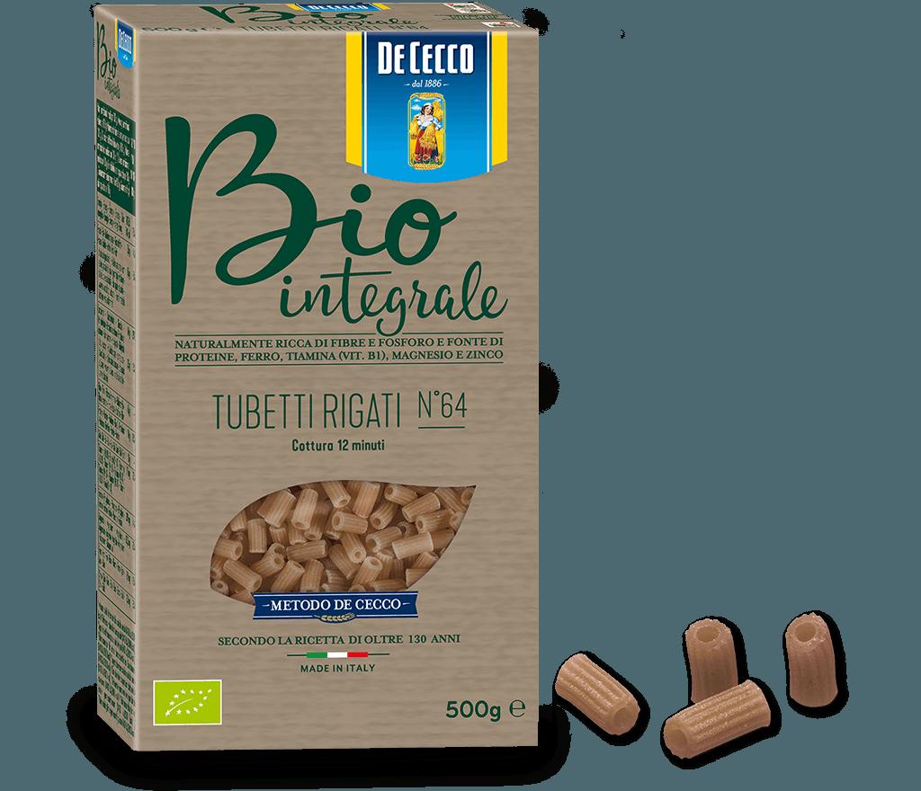 Tubetti Rigati n° 64 Bio Integrale