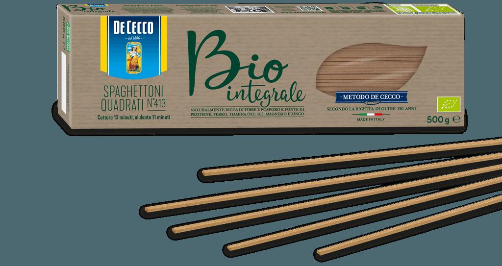 Spaghettoni Quadrati n° 413 Bio Integrale