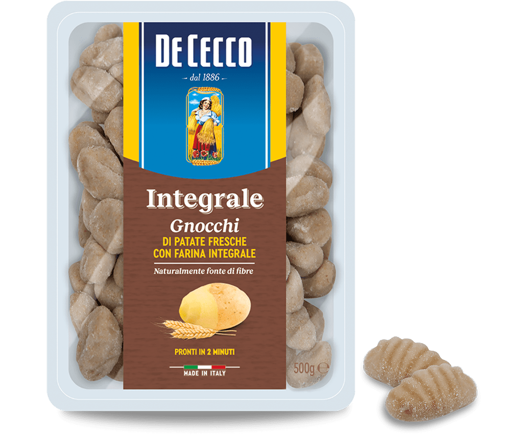 Whole-grain Fresh Potato Gnocchi